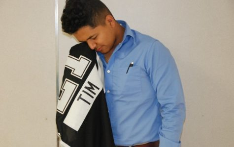 Diosdado wipes his tears before he hangs up the jersey forever.