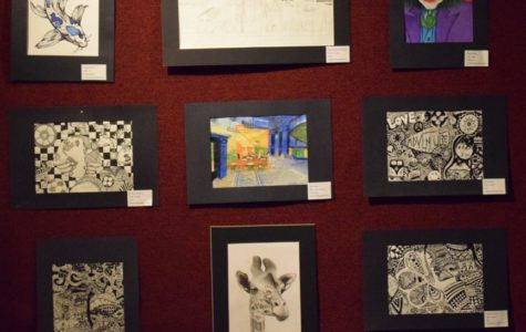 Student Art Displayed in Local Gallery
