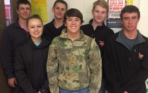 Some members of the livestock judging teams are: Kate Darsey, Davis Reeh, Kaiden Itz, Brant Bowers, Evan Barnes and Eli DeLong.