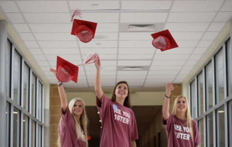 These seniors are ready to throw their high school caps in the air for good.