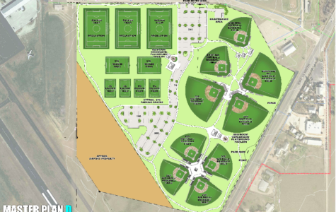 The blueprint for the new Fredericksburg parks that was voted down in the local bond election.