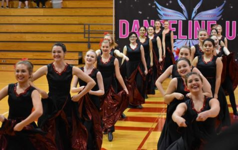 The Fredericksburg High School Red Hotts host their annual dance competition in the gym every year.
