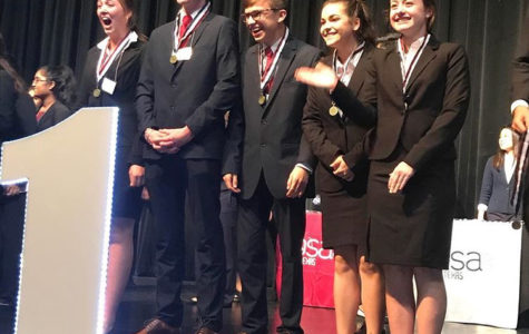 Junior MRC members, Jessica Hardin, Jake Reynolds, Trent Henk, Abbey Smith and Emma Hallford placed first and will compete at state.