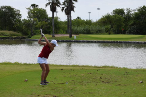 Allison James finished individually in second place at the regional tournament in Corpus Christi.