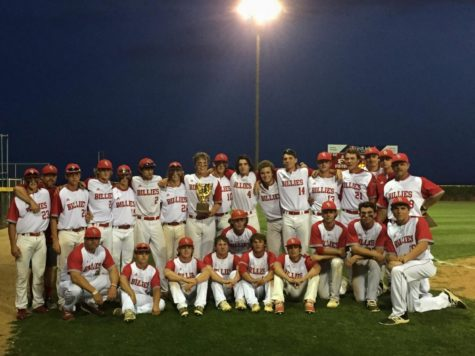 The Battlin Billies gather for a photo after their bi-district championship win.