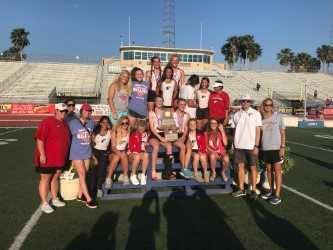 Girls Bring Home Gold from Regional Track Meet