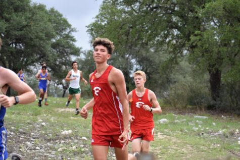 Alex Alvarado finishing out the last mile of his race. Shot by Lizzie Straker.