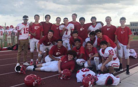 Freshmen Football Wins Their First Game of the Season