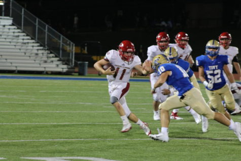 Quarterback Brant Bowers had 467 passing yards for this game.