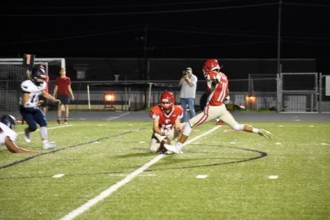 JV Football Hustles on the Field to Defeat Wimberley