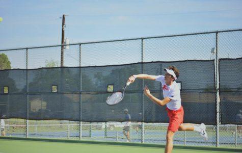 Billie Tennis Captures District Championship Title
