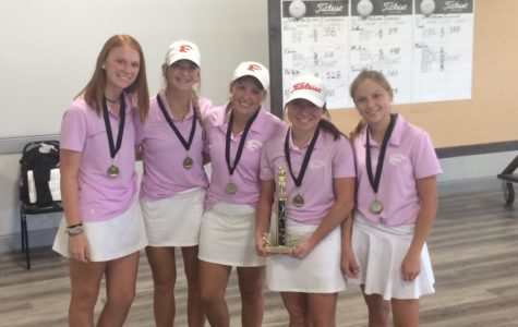 Varsity Girls' Golf Team Starts Off Strong for The Fall
