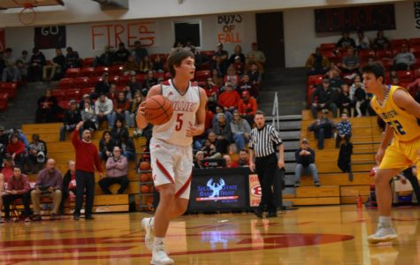 Boys Varsity Basketball Plays First Game of The Season Against Lago Vista