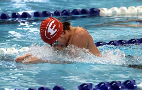 Billie Swim Team Wins Second at Winter Invitational Meet