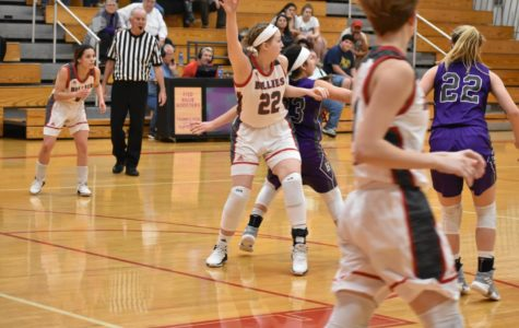 Lady Billies Basketball Stomp the Greyhounds
