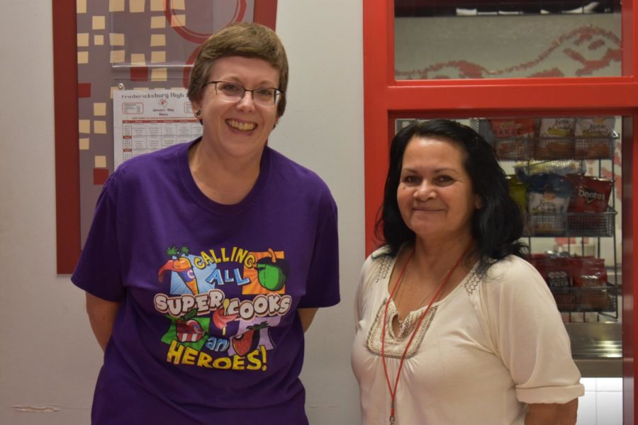Emma Wehmeyer and Carmen Ruiz are two of FHS's most beloved staff members.