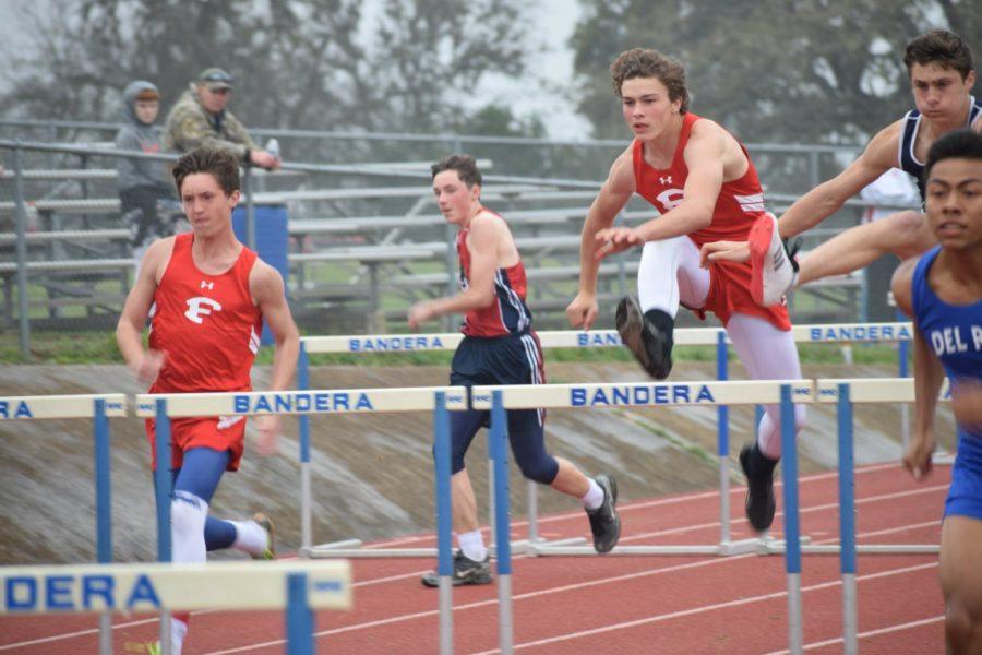 Boys Track Dominates at Canyon Lake Meet