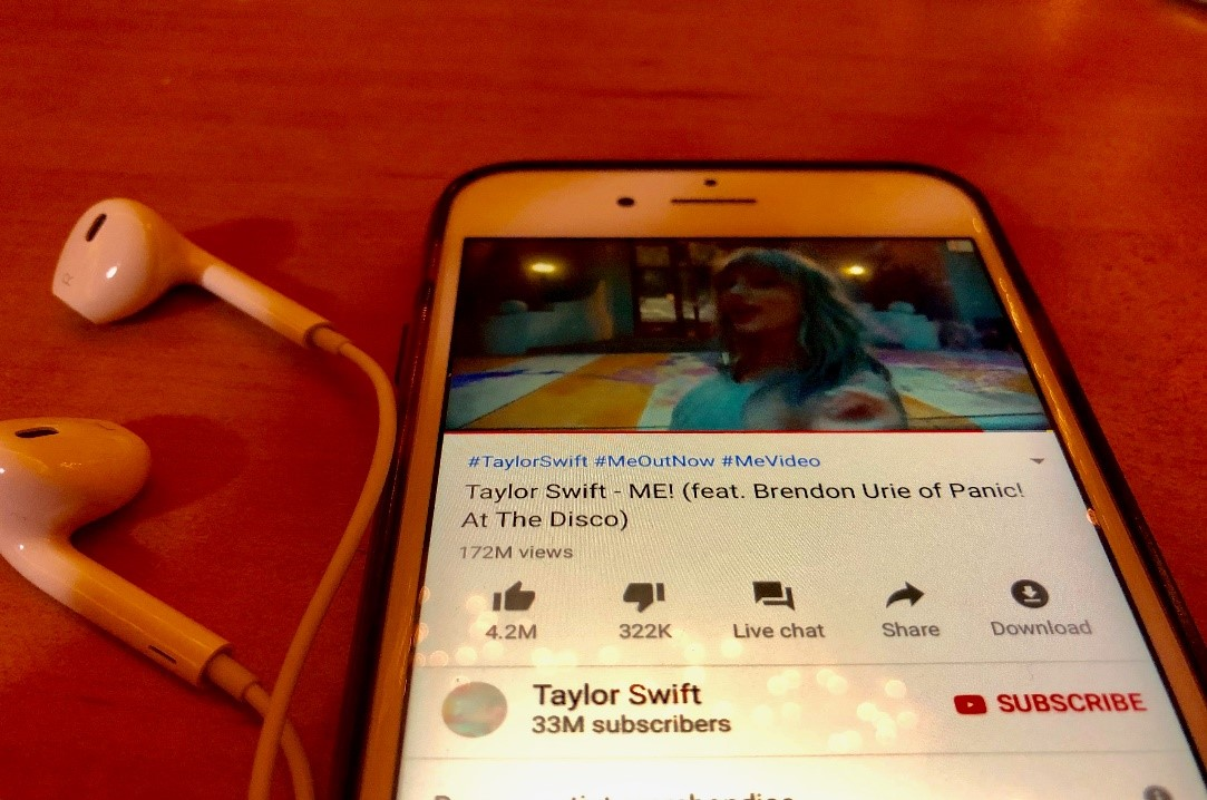 More than 172 million have watched Taylor Swift's new music video featuring Brendon Urie. Swift directed the video and added colorful scenes and an uplifting mood.