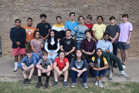 The students who participated in the Region Jazz contest are Mason Sommers, Harper Kiehl, Abigail Sechrist, Evalyn Crittell and Natalie Mondragon. Row 2: Nahomi Arias, Grace Fritz, Dalton Waters, Asher Weatherford and Sergio Martinez. Row 3: Gerardo Barrera, Daven Ballejo, Efrain Gonzales, Joel Plaza, Will Cooke, Zavior Vaquera, Jeremiah Baldwin, Alex Hernandez, Parker Fuege and Jacob Lees.