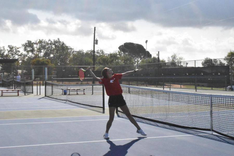 Tennis Team Cinches Win Against Boerne