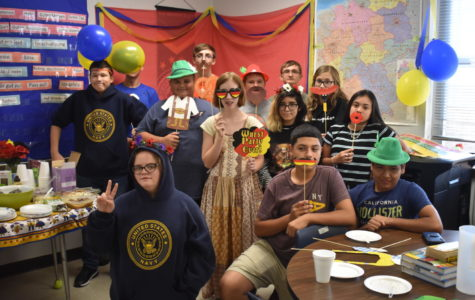 Guten Tag!  An Oktoberfest celebration was held in Ahrendt's German classroom.