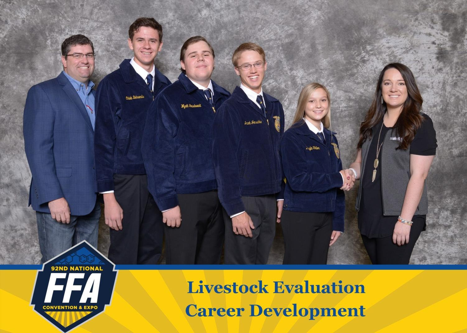 Fredericksburg Livestock Judging Team Returns to Scotland for the Second Time in Three Years
