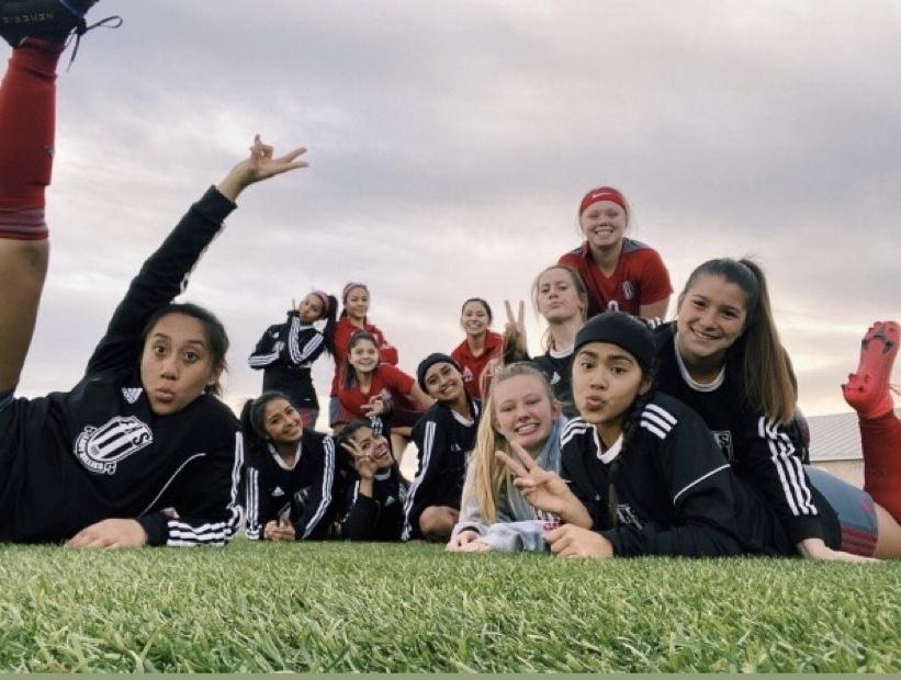 Girls' Soccer Stomps San Antonio Houston