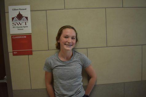 Freshman: Ann Claire Cop