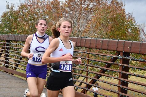 Congratulations to Taylor Grona, who placed 4th individually at the Girls State Cross Country Meet.
