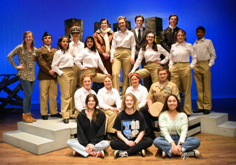One Act Play students performed The Fastest Woman Alive for the community last Thursday evening.